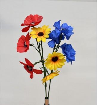 Веточки полевых цветов, 3 головки