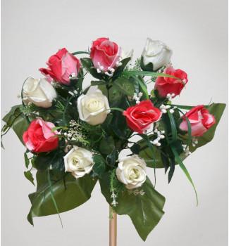Роза с виноградом, 14 головок