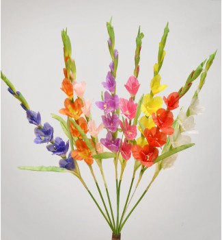 Гладиолусы натуральные, ветка