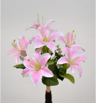 Лилия натуральная, букет 6 головок