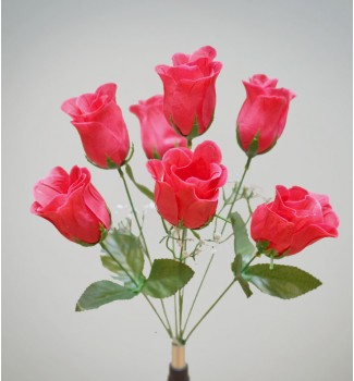 Роза бутон, букет 7 головок