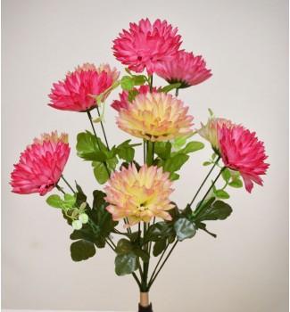 Хризантема шарик, букет 11 головок