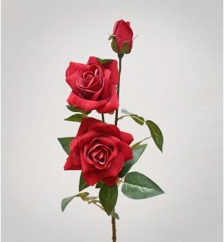 Роза бархатная, декор